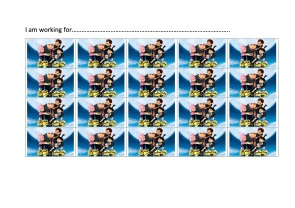 Dispicable me chart copy