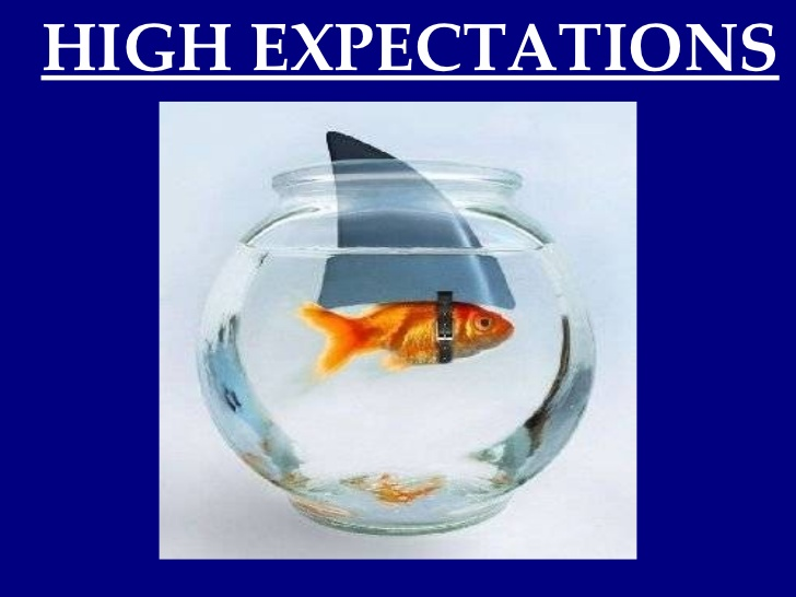 high expectations Read this article to learn how high expectations can improve performance for yourself and others you'll also learn when they don't work.